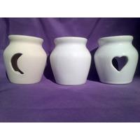 Hornitos Ceramica Esmaltados, Para Pintar/colocar Calcos