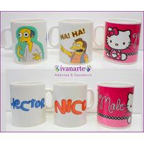 Taza Los Simpson Ceramica Personalizada Tu Foto Logo Texto