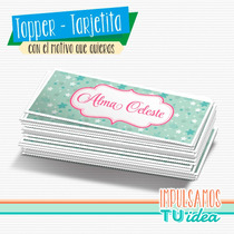 Princesa - Tarjetita Souvenir Para Imprimir