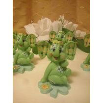 10 Souvenir Elefantito Baby Shower 1 Añito Nacimiento Tierno