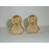 Virgencita Bautismo Comunión Figura Fibrofacil 5 Cmx Unidad