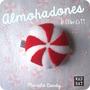 Almohadon Peluche Candy Souvenir Baby Shower Bautismo