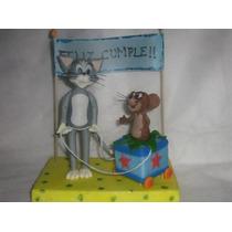 Adorno De Torta Tom Y Jerry