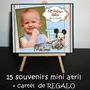Primer Añito Cumple 15 Souvenirs Atriles + Cartel De Regalo