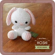 Amigurumi, Conejo Souvenier Tejido En Crochet