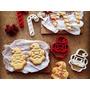 Cookie Cutter Cortante Galletas Navidad Para Mesa Navideña