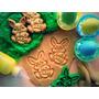 Cookie Cutter Cortante Galletita Conejito Y Huevo De Pascuas