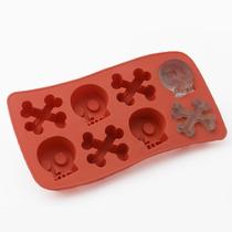 Cubetera Caníbal De Silicona X 8 Cubos Cocina Morph
