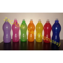 Botella Deportiva Plastica X 500 Cc Agua.jugo