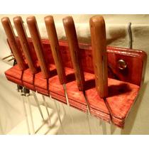 Cuchillos Organizador Portacuchillos Bronce Cocina Hogar