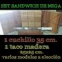 Set Sandwich De Miga (1 Taco A Eleccion + 1 Cuchillo 35 Cm.)