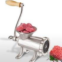 Maquina Picar Picadora Carne Fundicion Manual Metalica Nº12