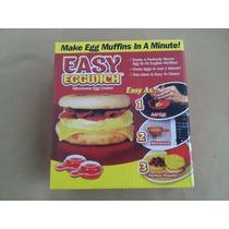 Fábrica De Omelettes Easy Eggwich Huevos Al Microondas