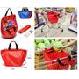 Bolsa Chango Compras Supermercado C/funda Divisiones Manijas