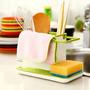 Organizador De Cocina - 3 En 1- Porta Detergente / Esponja
