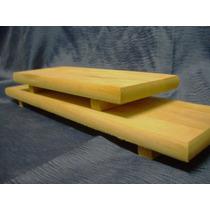 Tabla Para Sushi Y Picada En Madera De Cedro De 12 X 28