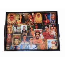 Mesas Desayunadoras Artesanales: Frida Kahlo
