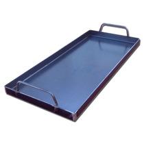 Plancha Bifera Chapa Para Cocinar De 25x55cm 3.2mm. Nuevas