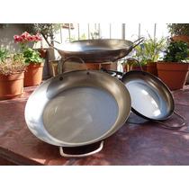 Paellera De 50 Cm Para Paella, Risoto, Mechero Cocina Anafe