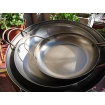 Paellera De 36 Cm Para Paella, Risoto, Mechero Cocina Anafe