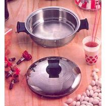 Olla/sarten Kitchen Ware De 1.5 Litros De Acero Quirurgico