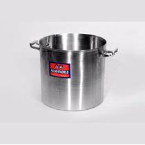 Olla C/ Tapa De Aluminio Gastronómica 22 Cm 7,5 Lts Almandoz