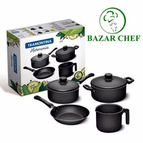 Tramontina - Harmonia Bateria De Cocina 4 Pz - Bazar Chef