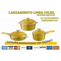 Essen Oferta Nuevo Set De Cacerolas X 3 Linea Solei ! !