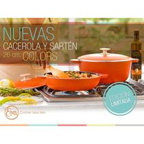 Cacerola Y Sartén 26 Cm. Colors