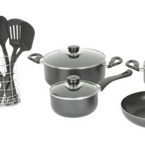 Set De Cocina 20 Piezas-ollas- Sarten 12 Cuotas Sin Interes