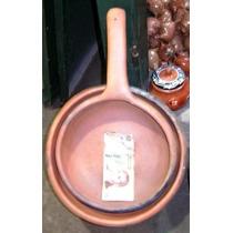Sarten De Barro Cocido - Uso Gastronómico