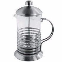 Cafetera Embolo 350 Cc Vidrio Templado Y Acero Excelente !!!