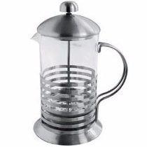 Cafetera Embolo 1 Litro Vidrio Templado Y Acero Inox. Oferta