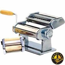 Maquina Fabrica De Pastas, Acero 9 Graduaciones 1 Año Garant
