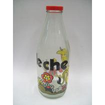 Botella De Vidrio Para Leche - Industria Nacional