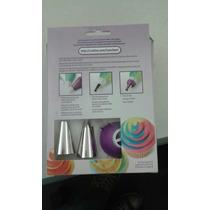 Wilton Manga De Repostería 3 Colores Completo Cupcake Deco