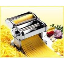 Maquina Pastas Fideos Acero Inox Tipo Pastalinda Grande 24cm