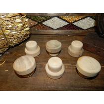 Tapones Madera Y Plastico Unicos Atoxico Kit X6.tomat Tritur