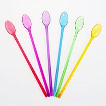 Cuchara Multicolor Trago Largo Set X 6 Cocina Morph