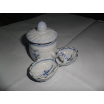 Condimentero Ceramico Oriental Frasco Dulcera Miniatura