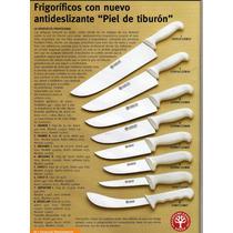 Set Cuchillos Carniceros Arbolito Cabos Pom. 8 Piezas