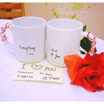 Tazas Ceramica Jarros Termicos Personalizados Foto-frase-log
