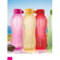 Tupperware Ecotwist Botellitas 500 Ml. Para El Gym, Oficina,