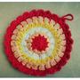 Agarradera Mandala Tejida A Crochet