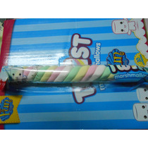 Malvavisco Twist Fun Candy Frutilla Por Unidad