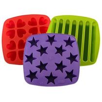 Cubeteras De Silicona Hieleras Con Formas