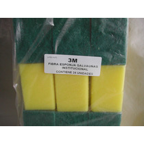 3m Esponja Scotch Brite Multiuso Salvauñas Pack X 24 Uni