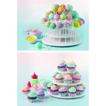 Base Soporte Cake 21 Muffins Cupcakes Candy 42 Cakepop Pop