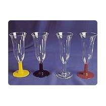 Copa Champagne Plastica Descartable X 25un.