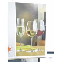 Copas Cristal Bohemia-juego De 18 Copas-champagne-vino-agua